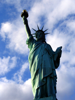Statue of Liberty -Frihetsgudinnen i New York
